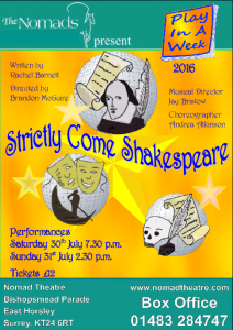 Play In A Week 2016 production