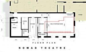 greenroom project floorplan