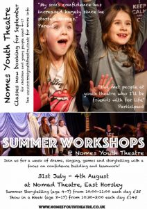 nomes youth theatre summer school 2017