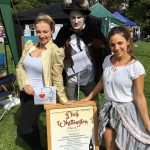 Dick, Alice and King Rat West Horsley Fete