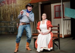 oklahoma review BLOS curly laurey