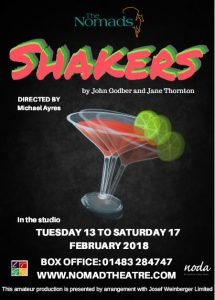 shakers play comedy eighties 80s