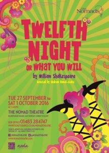 Twelfth Night - September 2016