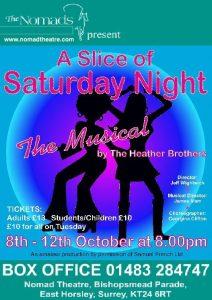 A Slice Of Saturday Night - October 2013