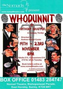 Whodunnit - November 2013