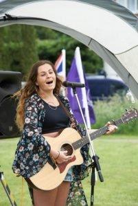 millie jane franks surrey songwriter singer showcase