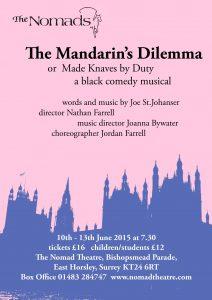 Mandarin's Dilemma - June 2015