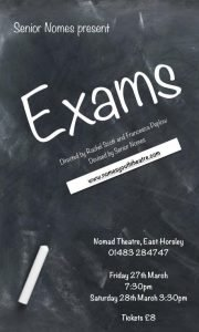 Exams (Nomes Youth Theatre) - March 2015