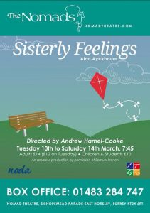 Sisterly Feelings - March 2015