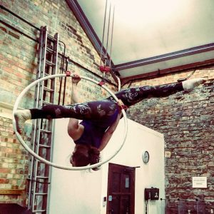 sarah gage aerial hoop performing arts surrey showcase