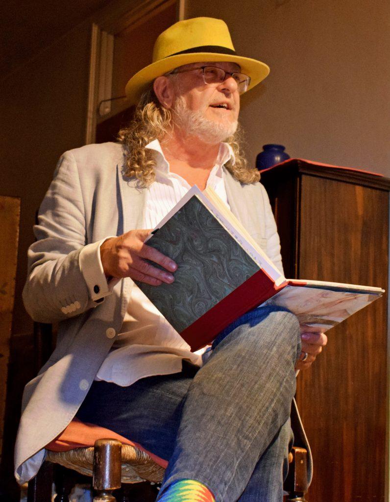 donall dempsey poet surrey showcase
