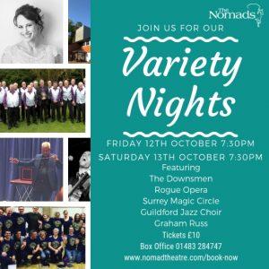 Variety Nights - October 2018