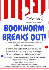 Bookworm Breaks Out - The Nomes, 2019
