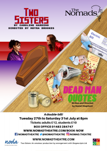 Two Sisters / Dead Man Quotes - July 2021